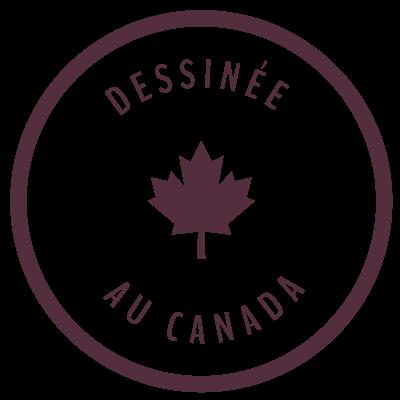 Lunettes dessinées au Canada