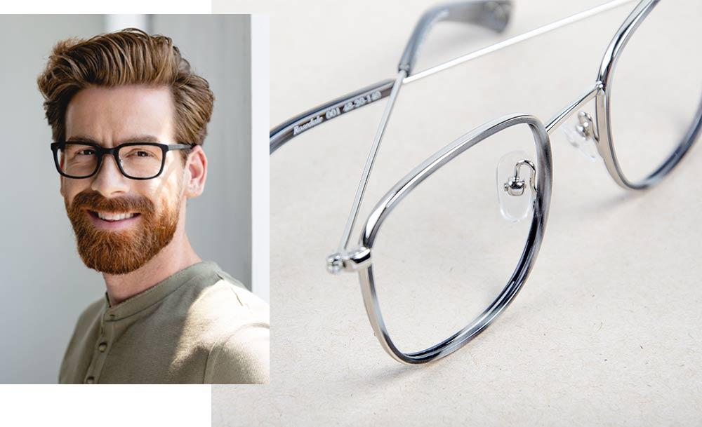 Kingsway metal glasses