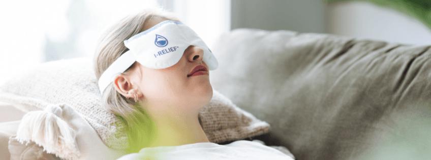 Cet automne, apaisez vos yeux avec le masque thérapeutique pour les yeux I-RELIEF™