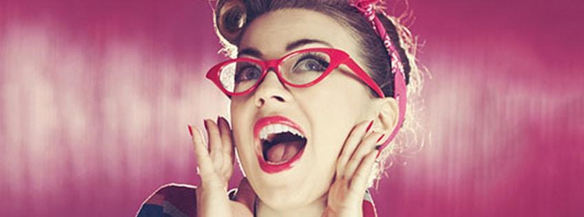 Make-up and Glasses